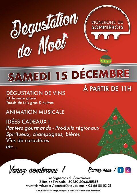 Dégustation de Noël ! 15/12/2018